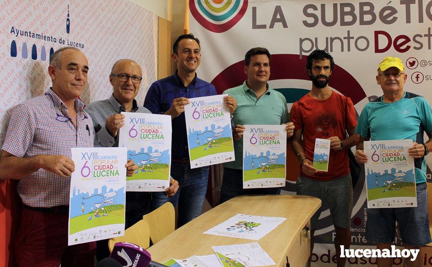 La Carrera Popular Ciudad de Lucena recorrerá los 10.000 metros iniciales de la Media Maratón
